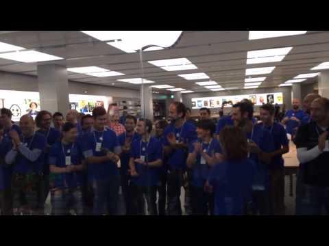 Apple Store Eröffnung OEZ München