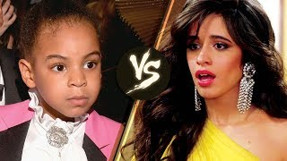 Camila Cabello Explains How Blue Ivy Made Her INSECURE at the 2018 Grammys