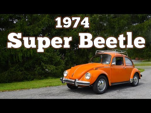 1974 Volkswagen Super Beetle 1600: Regular Car Reviews