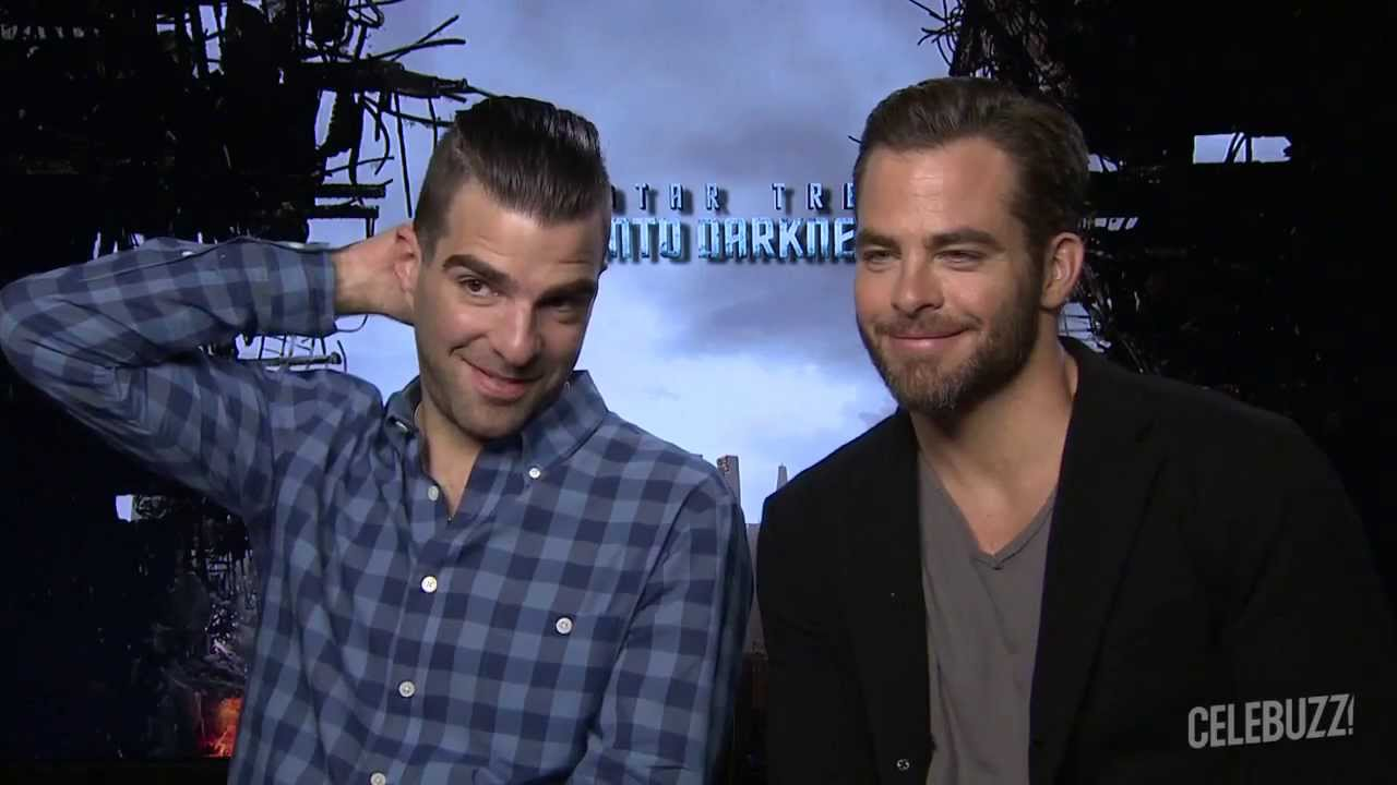 Zachary Quinto and Chris Pine Compare Their Star Trek - Gay Hairstyle