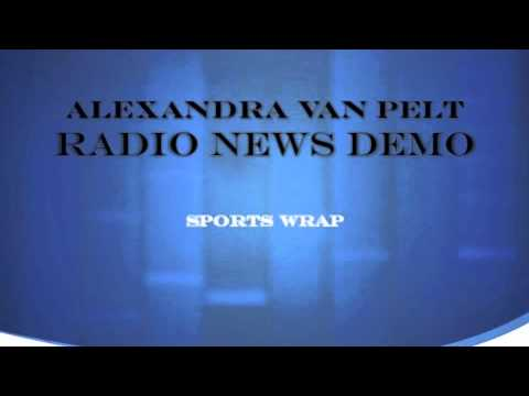 Radio News Demo  Sports Wrap