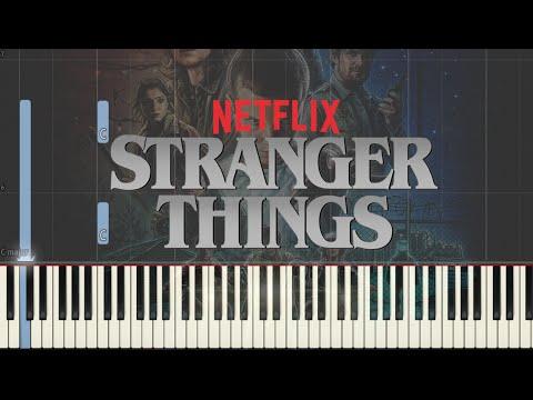 Stranger Things - Main Theme | Synthesia Tutorial