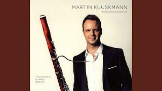Bassoon Concerto in F Major, WoO 23, S. 63: II. Romanza: Andantino e cantabile