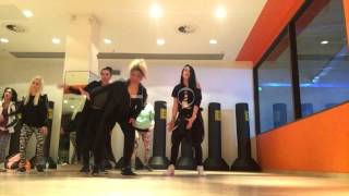"Elephant Man ""Touch The Street"" Mash It Up Fitness Audition/Instructors Training London April 2015"