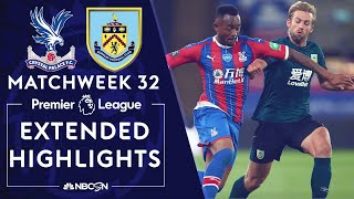 Crystal Palace V. Burnley | Premier League Highlights | 6/29/2020 | Nbc Sports