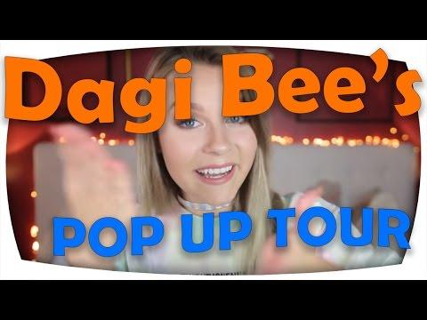 Dagi Bees Pop Up Tour Neue Kollektion Youtube News Youtube