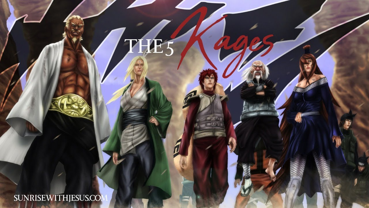 The 5 Kages - SWJ - Live Morning Devotional Show