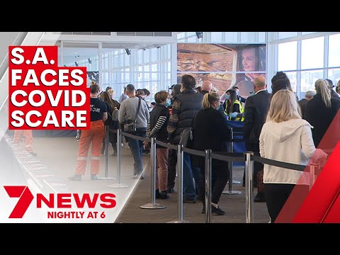 SA Health on alert after COVID-positive woman lands in South Australia   7NEWS