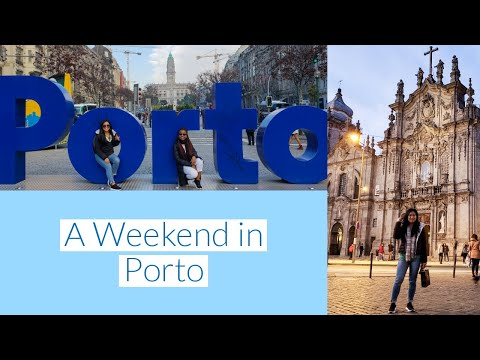 TRAVEL VLOG: A Weekend in Porto, Portugal