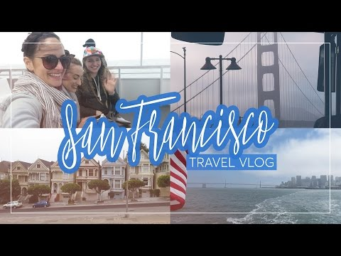 Sight-seeing in San Francisco - Travel vlog   CharliMarieTV
