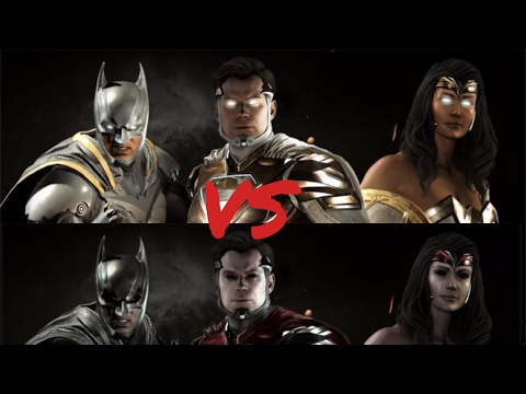 Injustice 2 God Shader vs Demon Shader