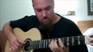 Metallica - The Unforgiven - Fingerstyle Acoustic Guitar Cover