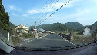 岡山県道411号垂水追分線、R313-R181 車載動画