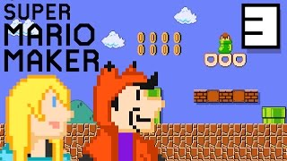 WE WILL NOT RAGE QUIT!!! (100 LIVES CHALLENGE) | Super Mario Maker #3