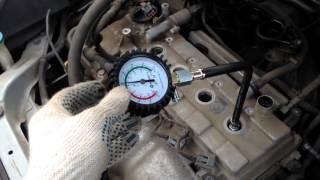 Как проверить автомобиль перед покупкой, измерение компрессии