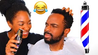 My Wife Cut My Hair Due to Quarantine ...This Is What Happened🤦🏾♂️