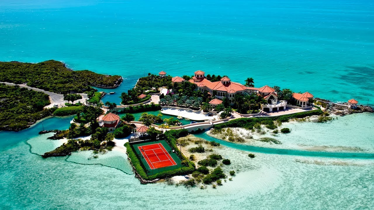 This Man-made Private Island In The Caribbean Is One Of