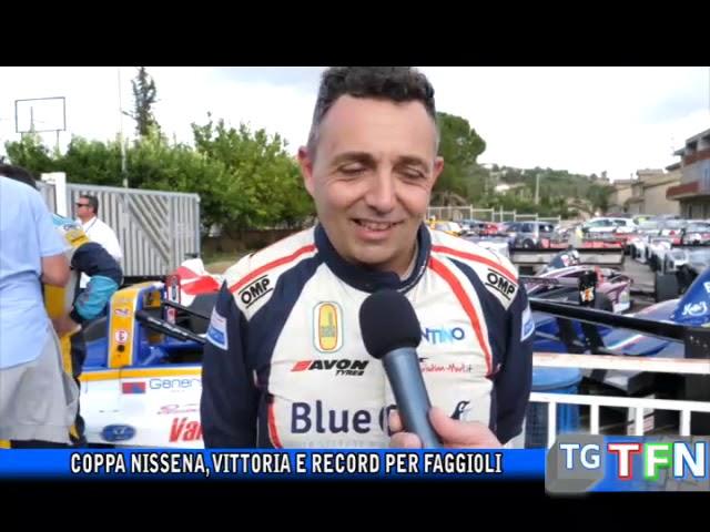 Coppa Nissena, vittoria e record per Faggioli