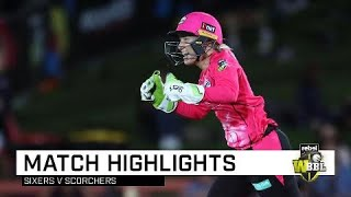 Perry's ton carries Sixers to first win of the season | Rebel WBBL|04