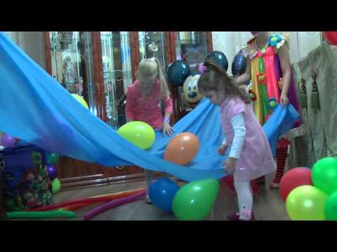 Оформление воздушными шарами детского Дня рождения