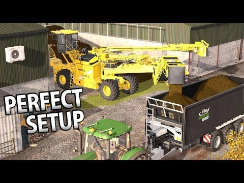THE PERFECT SETUP | Farming Simulator 17 | Oakfield Farm - Episode 50