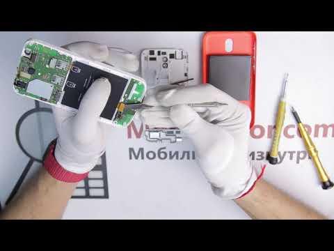 Инструкция как разобрать Nokia 1