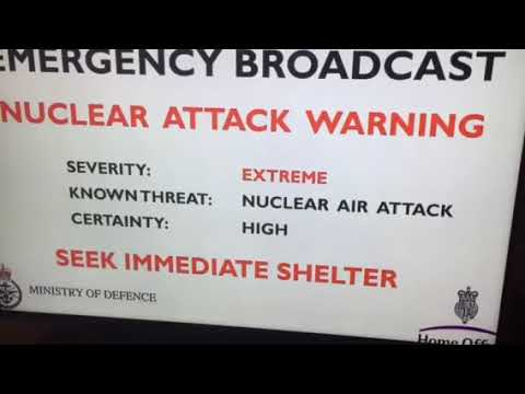 British nuclear emergency broadcast in colorado 10/30/17