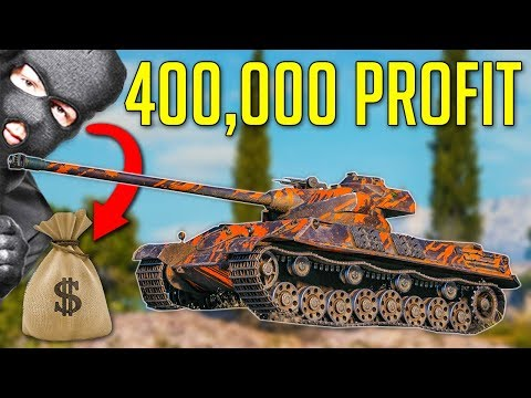 400,000 Profit • Robbing The Bank! ► World of Tanks Somua SM Gameplay