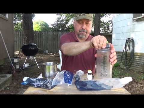 Purifying Drinking Water in the Field