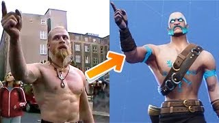INTENSITY Emote perfection avec All Ragnarok Evolution Skin, Fortnite Better than Techno Viking?