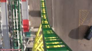 Wicked! [HD POV] Lagoon Park Launch Roller Coaster Utah