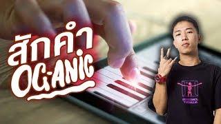 สักคำ : OG-ANIC (iPad Cover)