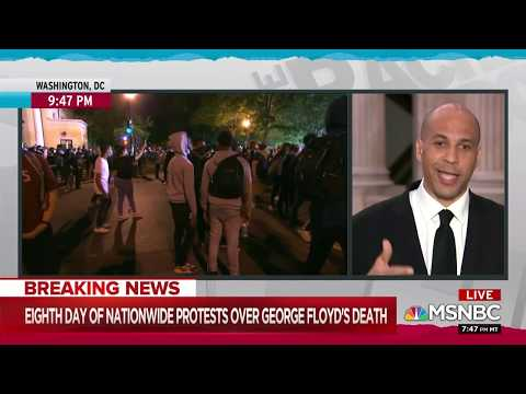 Cory Booker on the Rachel Maddow Show