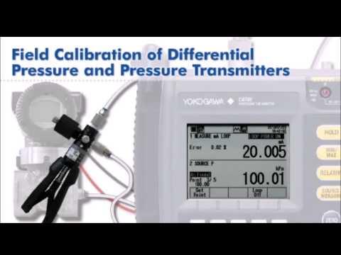 Field Calibration with the Portable CA700 Pressure Calibrator