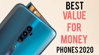 Top 5 Best  Value For Money Phones for 2020 !
