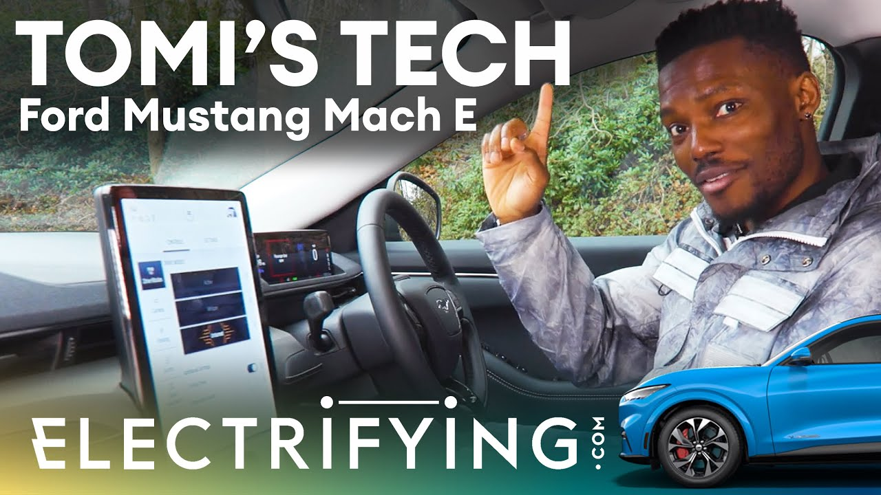Ford Mustang Mach-E technology review - Tomi's Tech Download / Electrifying