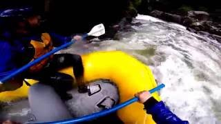 Rafting the Drop Zone on the White Salmon (Farmlands)