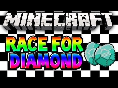 Minecraft EPIC Race for Diamond  Pick Your Strategy wMitch, Ryan, Woofless & LittleLizard