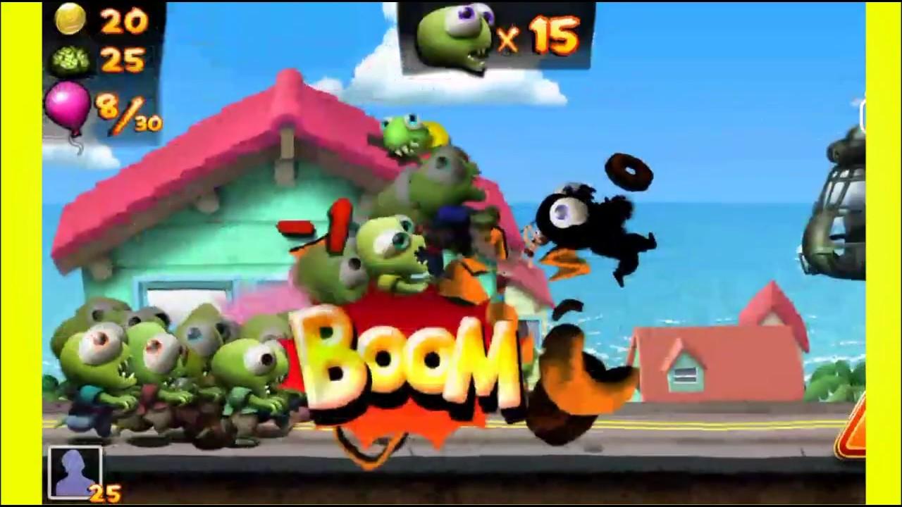 Jugando Zombie Tsunami / Juego de zombie para niños
