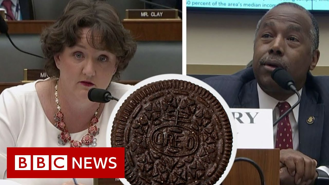 REO or Oreo? Ben Carson mistakes housing term for cookie - BBC News