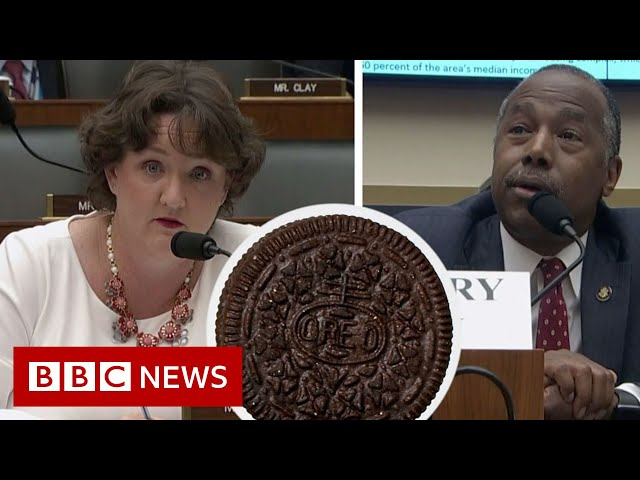 REO or Oreo? Ben Carson mistakes housing term for cookie - BBC News