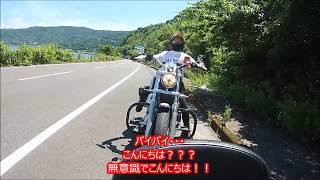 ハーレー女子 鹿児島 長渕のモニュメントを見に行く thumbnail