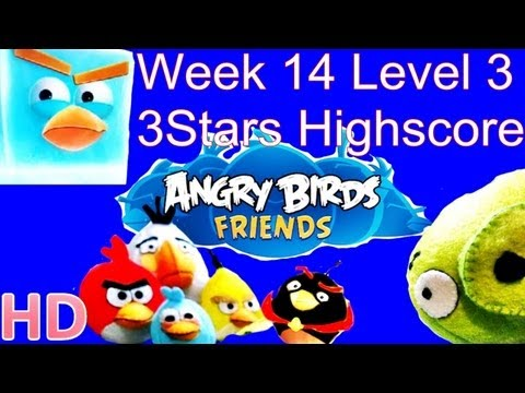 Angry Birds Friends - Week 14 Tournament Level 4 August 20 3Star Walkthrough Week 14 Level 4 from YouTube · Duration:  51 seconds