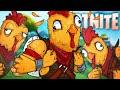 THE CHICKEN TENDER DEFENDERS! - Fortnite Battle Royale!