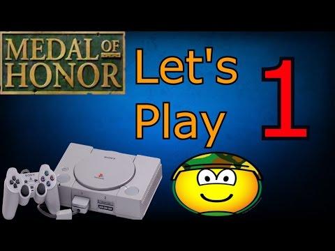 (Dansk) Medal of Honor - Episode 1 - En GOD Start (PS1)