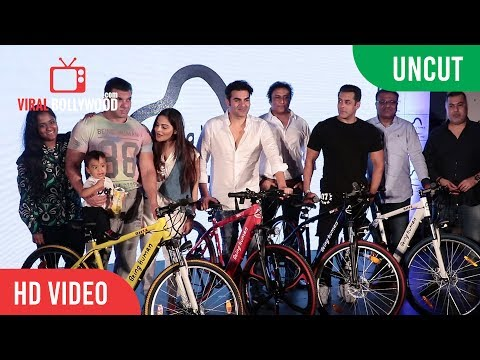 UNCUT - Salman Khan Launch E-Bike | Being Human Electrical Cycles Launch