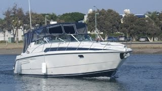 Bayliner 40 Avanti Express Cruiser Deck Tour by South Mountain Yachts (949) 842-2344