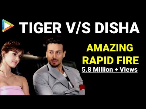 BLOCKBUSTER Rapid Fire of Tiger Shroff and Disha Patani
