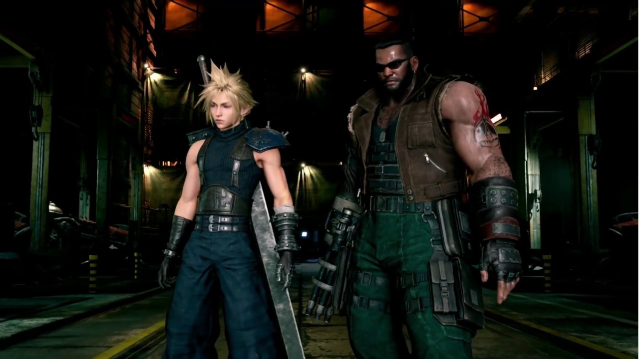 Final Fantasy 7 dating Barrett