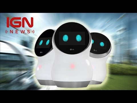Adorable LG Robots Will Clean Airports, Mow Your Lawn - IGN News